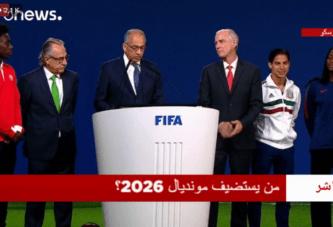 Maroc ou le trio États-Unis/Canada/Mexique :Suivez le vote d'attribution de la Coupe du monde 2026