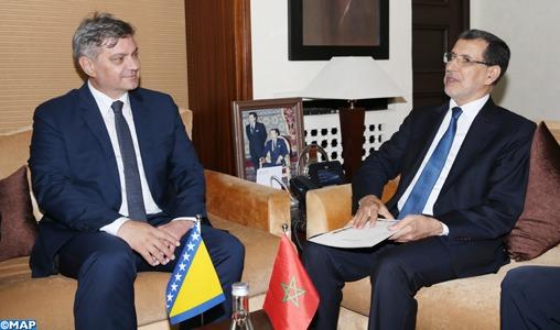 Le Maroc et la Bosnie-Herzégovine