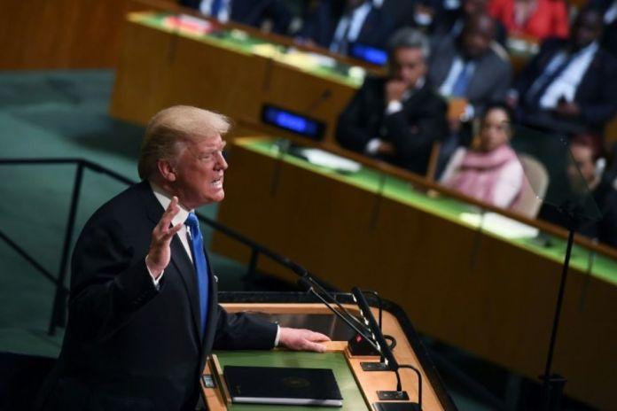 A l'ONU, Trump appelle à isoler le régime