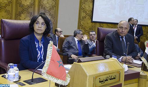 des ministres arabes