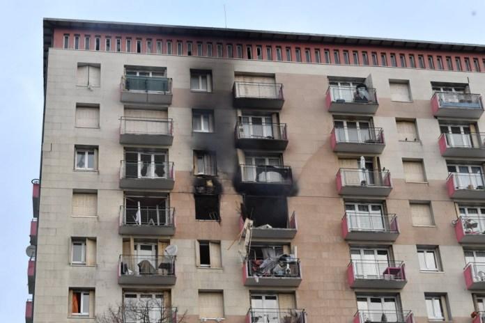 Explosion dans un appartement à Strasbourg