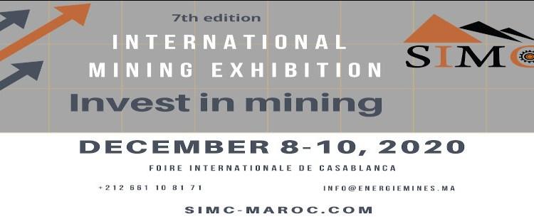 Salon International des Mines et Carrières 2020
