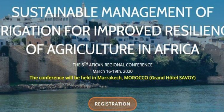 The 5th African Regional Conference on Irrigation and Drainage