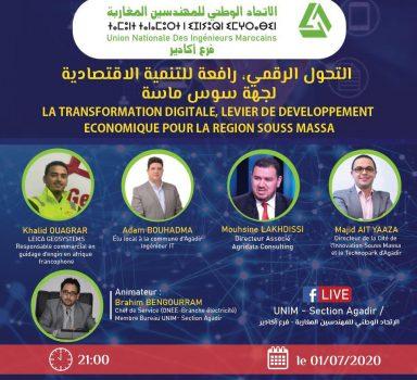 La transformation digitale, levier du développement économique pour la région souss massa