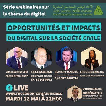 Opportunités et impact du digital sur la société civile