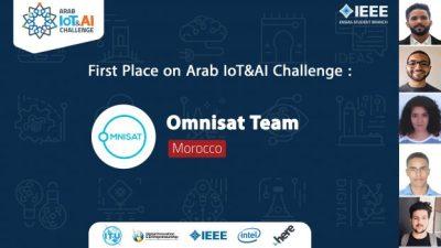 Le Maroc remporte le premier prix de l'Arab IoT&AI Challenge