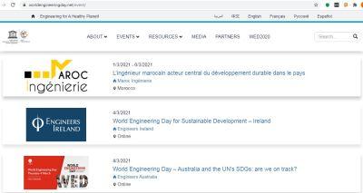 La Journée Mondiale de l'Ingénieur pour le développement durable 2