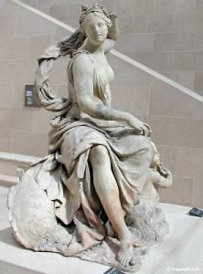 Amphitrite, déesse de la mer