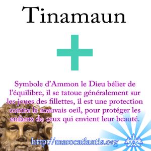 Tinamaun, le symbole libyque des joues féminines