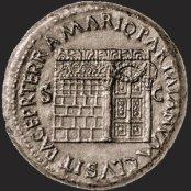 Le temple de Yenos (Janus) avec porte latérale.