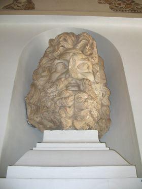 Tête de Jupiter découverte dans le Capitole
