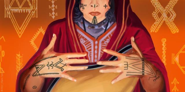 Initiation aux tatouages libyques
