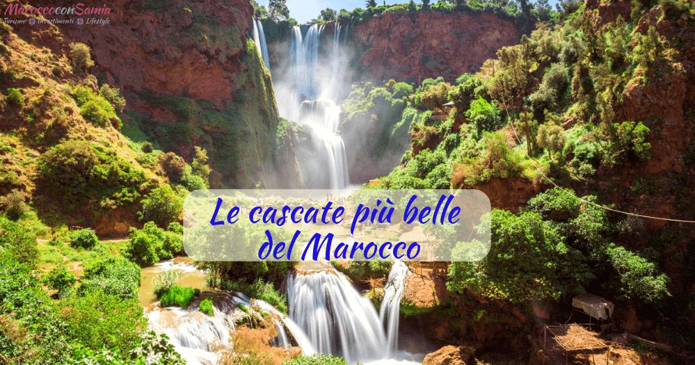 Ouzoud e le cascate più belle del Marocco