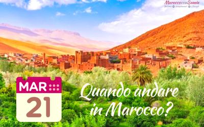 Quando andare in Marocco?