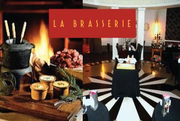 Casablanca: Fondue pour 2 au Restaurant La Brasserie à 190dh au lieu de 390dh!