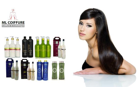 Kératine et Shampooing sans sulfate à seulement 549dhs au lieu de 1800dhs chez ML Coiffure pour des cheveux lisses!