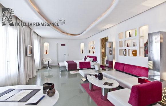 Marrakech: Séjour VIP à l'Hôtel La Renaissance à seulement 899dhs au lieu de 2690!