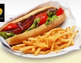 Repas avec Livraison: Sandwich et Boisson à moitié prix chez La Pause!