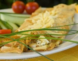 10 Crêpes salées viande hachée et fromage ou au poulet et champignons à seulement 39dhs chez Yummy!