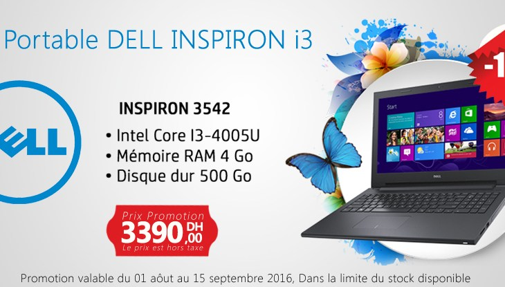 Inspiron 3542 4th Generation Intel Core i3-4005U