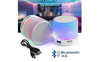 Haut parleur Led sans fil (bluetooth) à 70dh au lieu de 145 DH