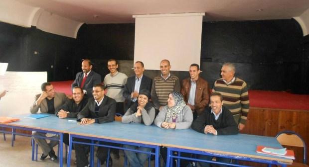 انتخاب مكتب إقليمي جديد للاتحاد الوطني للمتصرفين المغاربة باكادير