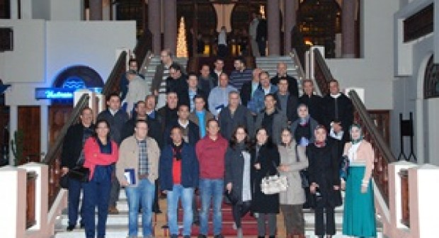 طبيبات وأطباء المركز الاستشفائي بمدينة إنزكان يكرمون الدكتورين البحري وابنمولود