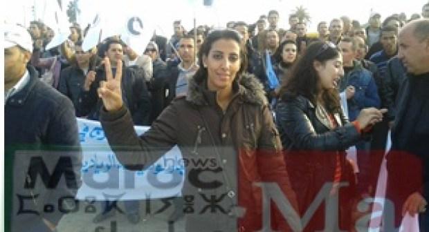 هكذا تعتقل مربية الأجيال في دولة الحق والقانون، تحية عالية للأستاذة مريم قرابطي!!