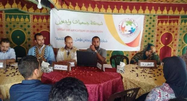 تقرير عن اللقاء التواصلي مع الحكومة الموازية للشباب للشؤون الصحراوية