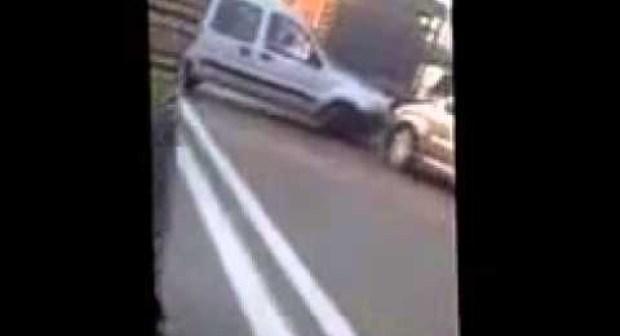 فرار سائق سيارة نقل مزدوج بعد قتل شرطي وسط مدينة طنجة…و اعتقاله بطريقة هوليودية