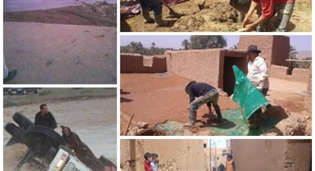 ما بعد الفيضانات… غياب الدولة و التفاتة المجتمع المدني
