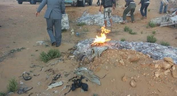 فيديو: إتلاف أزيد من 16 طن من الاخطبوط المهرب بمدينة طانطان
