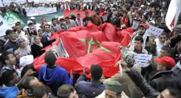 أقوى لحظات المسيرة الإحتجاجية لساكنة منطقة ألنيف 14 03 2016