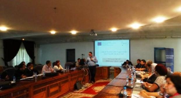 """اللقاء الجهوي الخاص بالمشاركة المواطنة واليات الديمقراطية التشاركية المحلية – برنامج """" تيسير المجتمع المدني"""" في المغرب"""