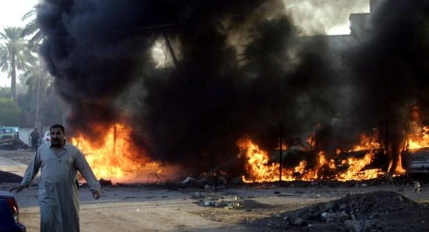 انفجاران انتحاريان يهزان بغداد