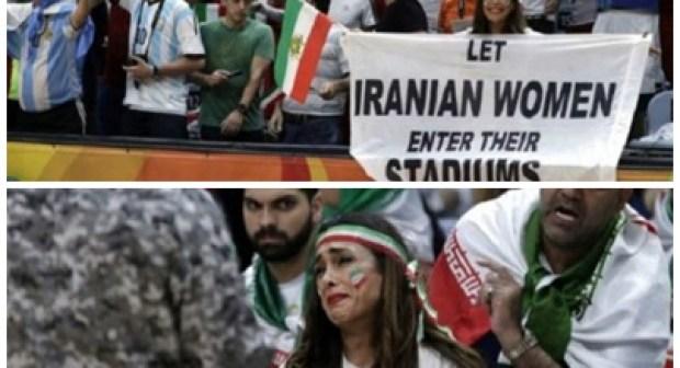 ريو 2016: الأمن يجبر إيرانية على مغادرة المدرجات بسبب لافتة احتجاج