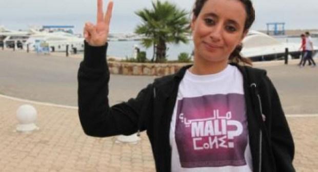 """أمن الرباط يوقف ابتسام لشكر زعيمة حركة """"مالي"""" لأسباب خطيرة!!"""