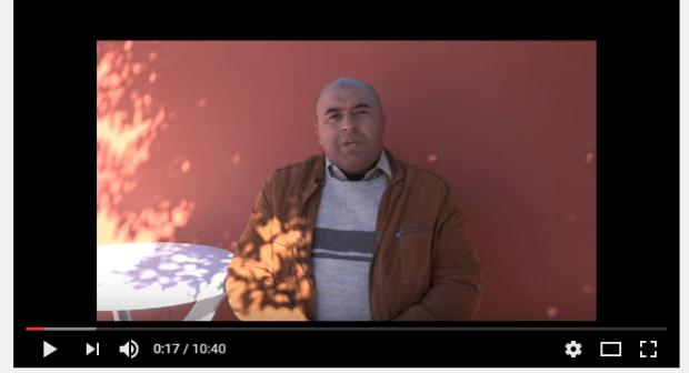 الإعلامي ابراهيم إدريسي يدلي بشهادته حول اعتصام المكفوفين ومحاولة انتحارهم وحوارهم مع السلطة المحلية