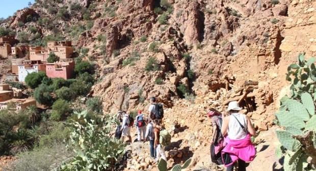 Arrivée du premier groupe de touristes à la région de Souss Massa pour tester le nouveau circuit « A la découverte du Pays berbère du Souss »
