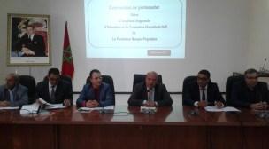 توقيع اتفاقية شراكة بين أكاديمية مراكش آسفي ومؤسسة البنك الشعبي