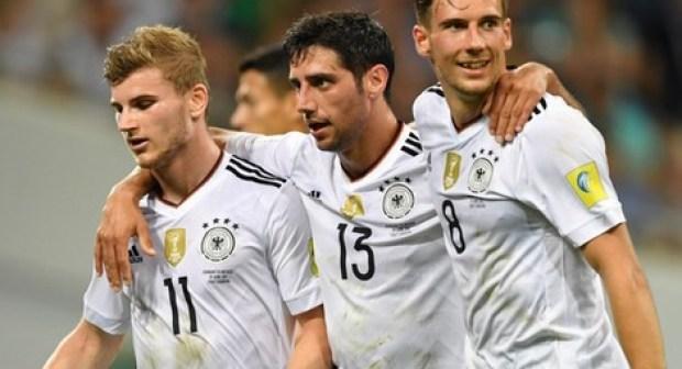 """الماكينات الألمانية"""" تفرم المكسيك وتتأهل إلى نهائي كأس القارات"""