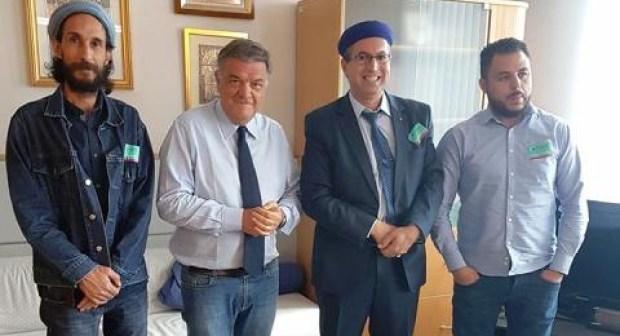 Le Service Européen pour les Affaires Extérieures de l'Union Européenne et la présidence de la Sous-commission des Droits de l'Homme du Parlement Européen reçoivent une délégation amazighe sur les évènements du Rif