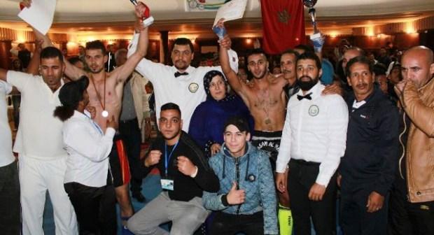البطولة الجهوية لرياضة الكيك بوكسينغ في دورتها الاولى بمدينة  سيدي افني