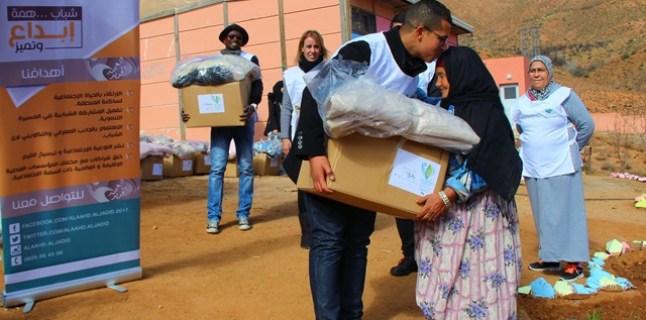 la 1ère édition de la caravane volontaire sous la direction de l'association ALAAHD AL JADID