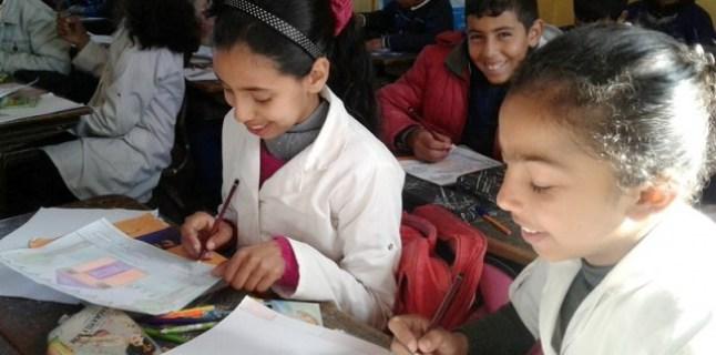 رسائل بألوان السلام من أطفال المغرب لنظرائهم الأوربيين والأفارقة