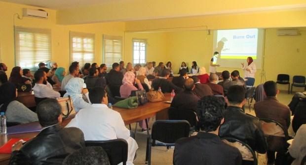 دورة تكوينية لفائدة أساتذة وأطر الإدارةبمديرية سيدي إفني
