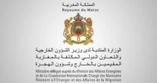 الوزارة المنتدبة المكلفة بالمغاربة المقيمين بالخارج تعلن عن مباراة توظيف 9 مناصب