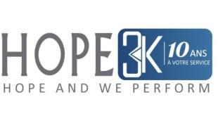 HOPE3K recrute Comptable Junior et Chargée d'Accueil