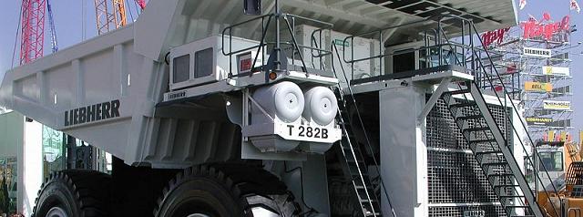 Liebherr T 282B a Hydraulika Siłowa