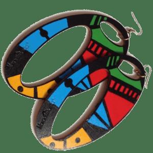 Oval Aztec